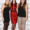 NO REPRO FEE. 24/10/2012. Pictured tonight at the Skyfall charity screening at The Savoy Cinema are (LtoR) Emma Needham, Alison Canavan and Caitlin McBride . The screening is in aid of 2 Irish charities LARCC and the Irish Cinema Benevolent Fund. A magnum of Bollinger was given to the best dressed man and best dressed woman and attendees enjoyed a Heineken drinks reception in Lillie's Bordello after the screening.Photo: Sasko Lazarov/Photocall Ireland