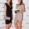 NO REPRO FEE. 24/10/2012. Pictured tonight at the Skyfall charity screening at The Savoy Cinema are (LtoR) Lucinda and Niamh Tracey. The screening is in aid of 2 Irish charities LARCC and the Irish Cinema Benevolent Fund. A magnum of Bollinger was given to the best dressed man and best dressed woman and attendees enjoyed a Heineken drinks reception in Lillie's Bordello after the screening.Photo: Sasko Lazarov/Photocall Ireland