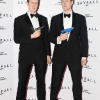 NO REPRO FEE. 24/10/2012. Pictured tonight at the Skyfall charity screening at The Savoy Cinema are (LtoR) Robbie and Jack Woods.  The screening is in aid of 2 Irish charities LARCC and the Irish Cinema Benevolent Fund. A magnum of Bollinger was given to the best dressed man and best dressed woman and attendees enjoyed a Heineken drinks reception in Lillie's Bordello after the screening.Photo: Sasko Lazarov/Photocall Ireland