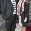 Michael Fetherston and Aisling O Kennedy pictured at Bressies Charity lunch in aid of Larcc Cancer Support in Brasserie 15 Restaurant in Castleknock Pic Brian McEvoy
