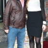 Larry Bass and Eliza McLaughlin pictured at Bressies Charity lunch in aid of Larcc Cancer Support in Brasserie 15 Restaurant in Castleknock 