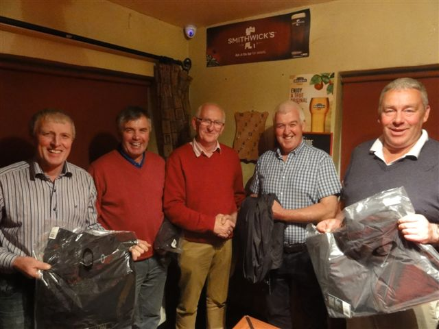 Tom Connolly, Tom Sweeney, Martin Bohan LARCC Board Chairman, Tim Connolly & John Farrell.