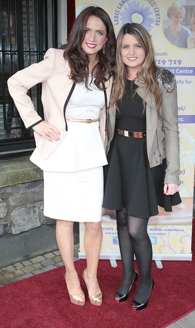 Ramona McNicholas and Carole Murray pictured at Bressies Charity lunch in aid of Larcc Cancer Support in Brasserie 15 Restaurant in Castleknock 
