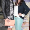 Louise Hughes and Dearbhla Farrell pictured at Bressies Charity lunch in aid of Larcc Cancer Support in Brasserie 15 Restaurant in Castleknock Pic Brian McEvoy