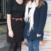 Ailbhe Maher and Catherine Nealon pictured at Bressies Charity lunch in aid of Larcc Cancer Support in Brasserie 15 Restaurant in Castleknock Pic Brian McEvoy