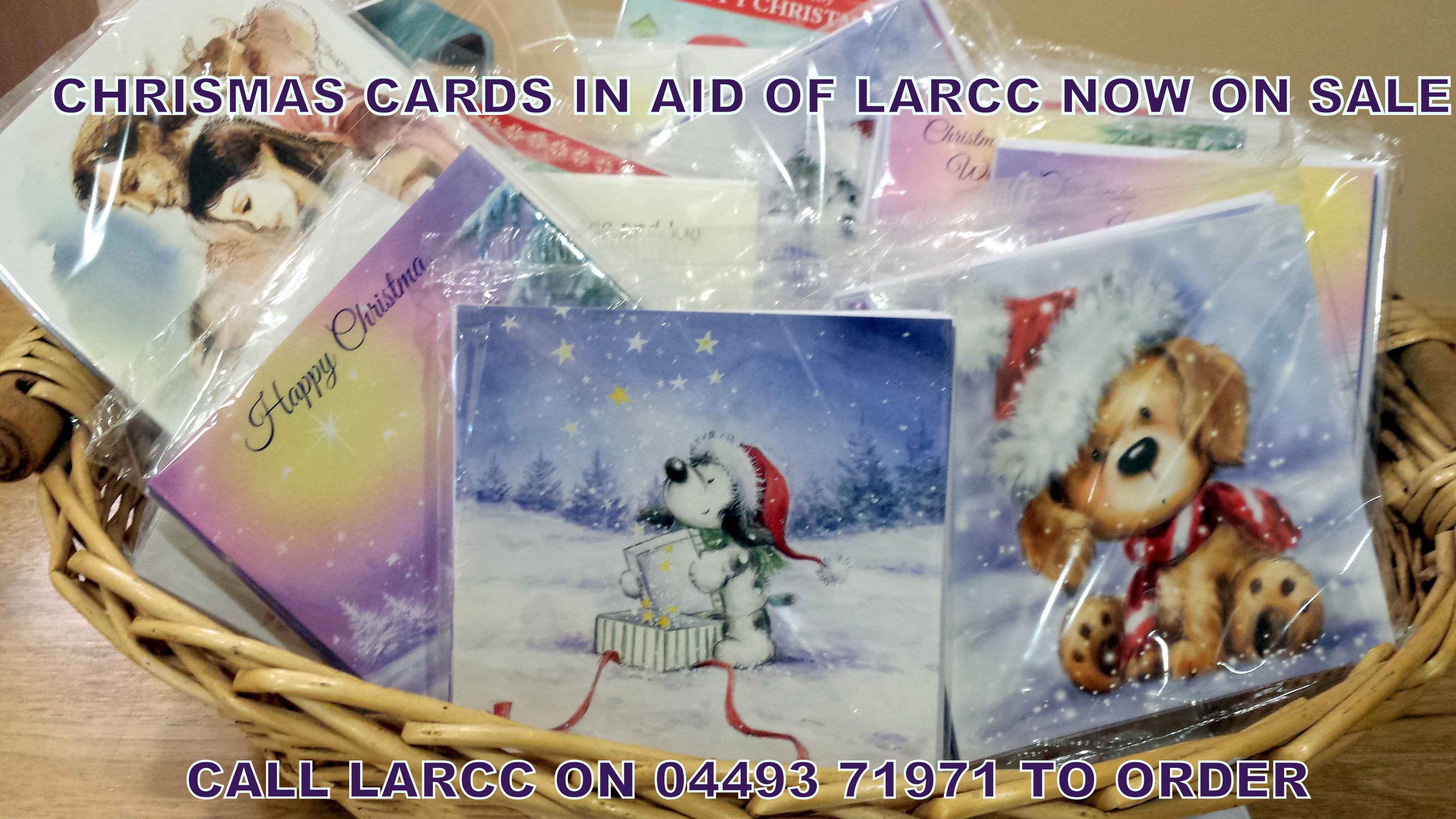Christmas Cards now on Sale at LARCC - Cancer Support Centre