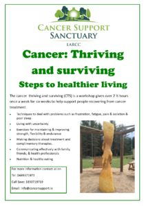 Cancer: Thriving and surviving course
