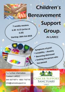Children's bereavement support group